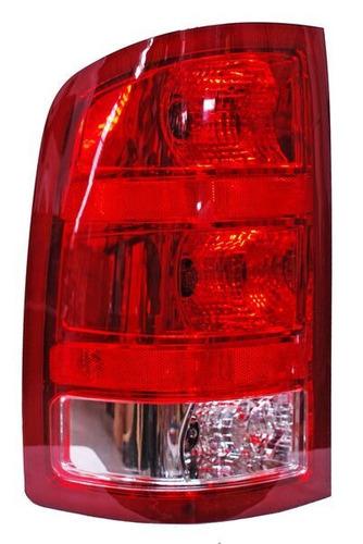 calavera chevrolet sierra 11-12 filo rojo izquierda