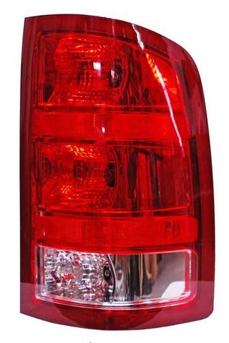 calavera chevrolet sierra 2007-2008-2009-2010-2011-2012 rojo