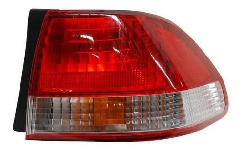 calavera honda accord 2002 4puertas rojo/bco ext izquierda