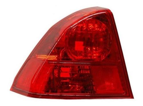 calavera honda civic 2003-2004-2005 sedan rojo ext izquierda
