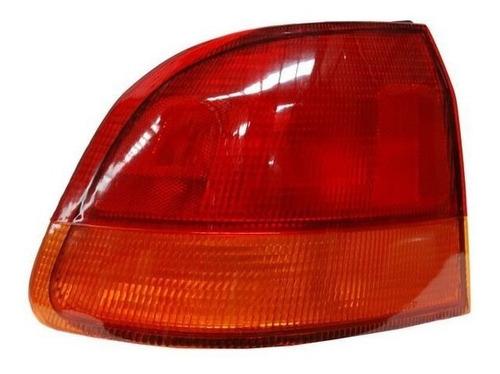 calavera honda civic 98 4puertas rojo/ambar ext derecha