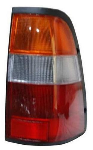 calavera luv doble cab 1997-2001 rojo/bco/ambar