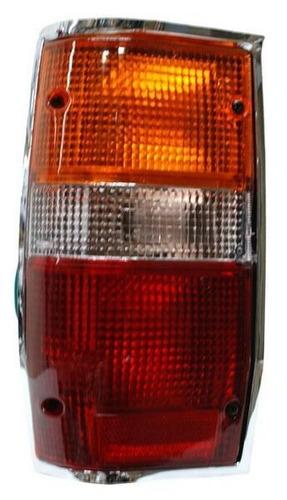 calavera mitsubishi pick up l200 1991-1992 cromo izquierda