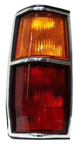 calavera nissan pick up 720 1987-1988-1989 cromo derecha
