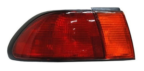 calavera nissan sentra 96-97-98-99 rojo/ambar izquierda