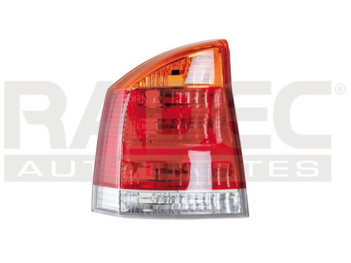 calavera  vectra 03 ambar/blanco/rojo depo izq