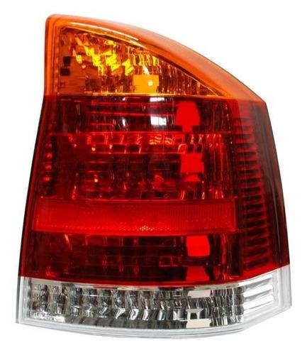 calavera vectra 2003-2004 rojo/bco/ambar
