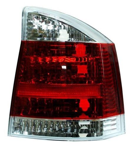 calavera vectra 2005-2006 rojo/bco