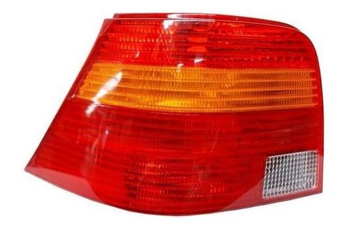 calavera volkswagen golf 2000-2001 rojo/bco/ambar derecha