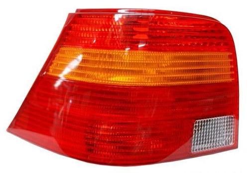 calavera volkswagen golf 2002-2003 rojo/bco/ambar izquierda