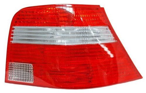 calavera volkswagen golf 2007 rojo/bco izquierda