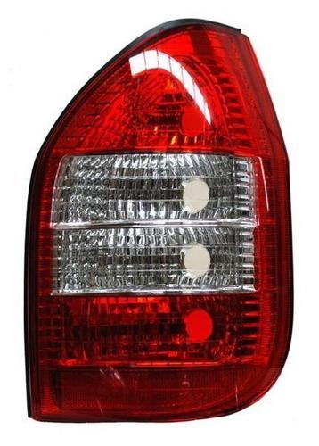 calavera zafira 2003-2005 rojo/bco