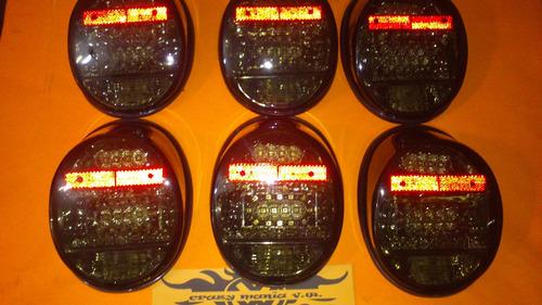 calaveras completas de leds vw sedan vocho mod.74 al 03