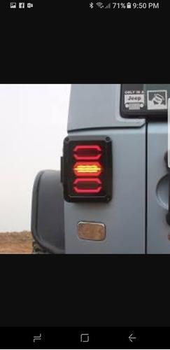 calaveras de leds jeep jk