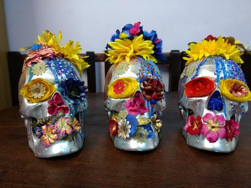 calaveras decorativas importadas