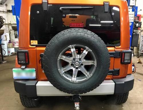 Calaveras Led Faros Jeep Wrangler Sahara Rubicon Jk 4x4