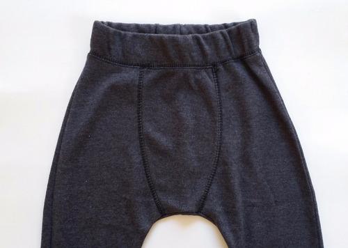 calça bebê saruel suedine 3-12 meses