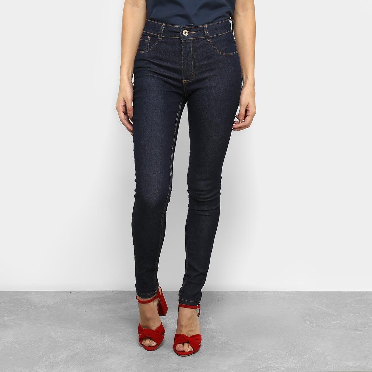 calça biotipo skinny lavagem escura clássica. Carregando zoom. e439b6fe753