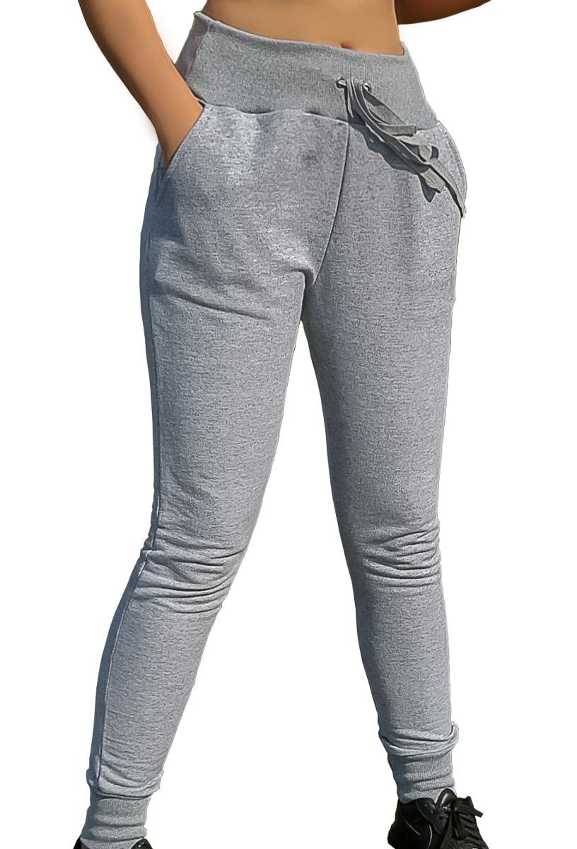 calça blogueira panicat slim skinny moletom feminina jogger. Carregando  zoom. c8d20c4dee