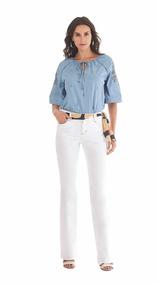 100af78f4 Calca Jeans Com Cos Intermediario - Calçados, Roupas e Bolsas no Mercado  Livre Brasil