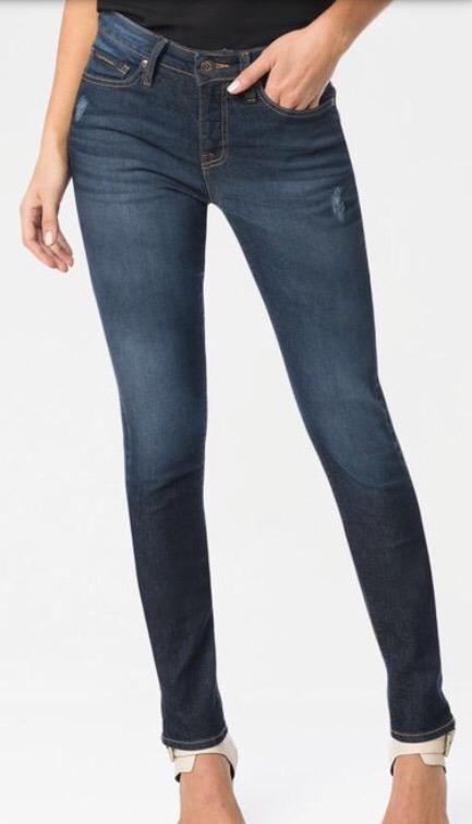 Calça Calvin Klein Jeans Feminina Jegging Azul Marinho - R  279,00 ... 2e20f62d1f
