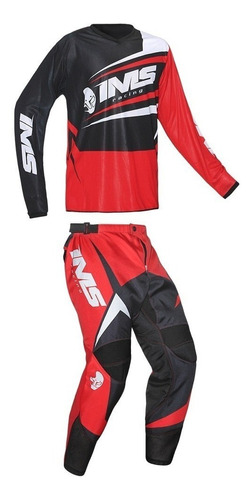 calça camisa off road ims flex infantil | motocross