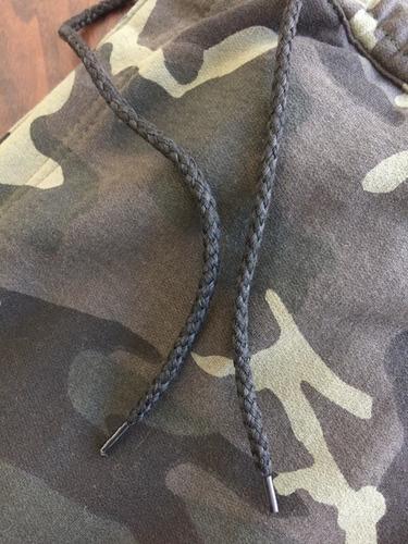 calça camuflada unissex