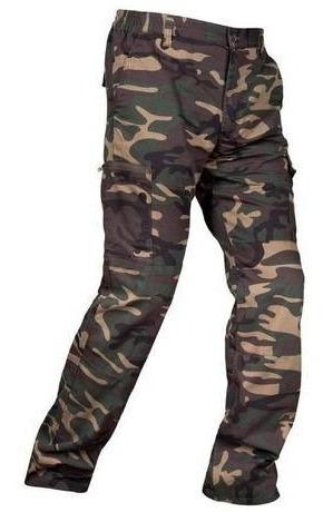 calça camuflada - woodland (selva)
