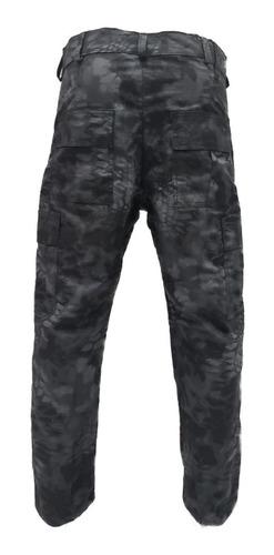 calça cargo camuflada rip stop reforçada by bravo21