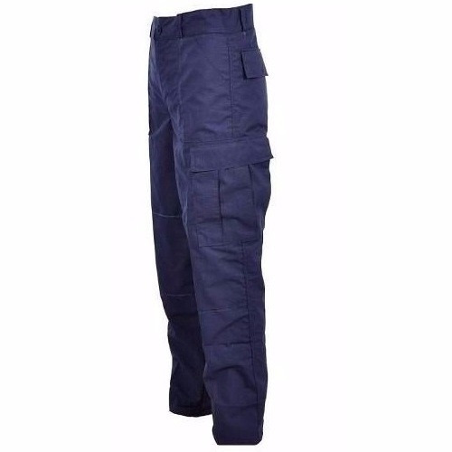 calça cargo rip stop azul marinho - guarda municipal