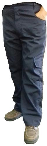 calça cargo (tatica)  meio elastico rip stop azul marinho