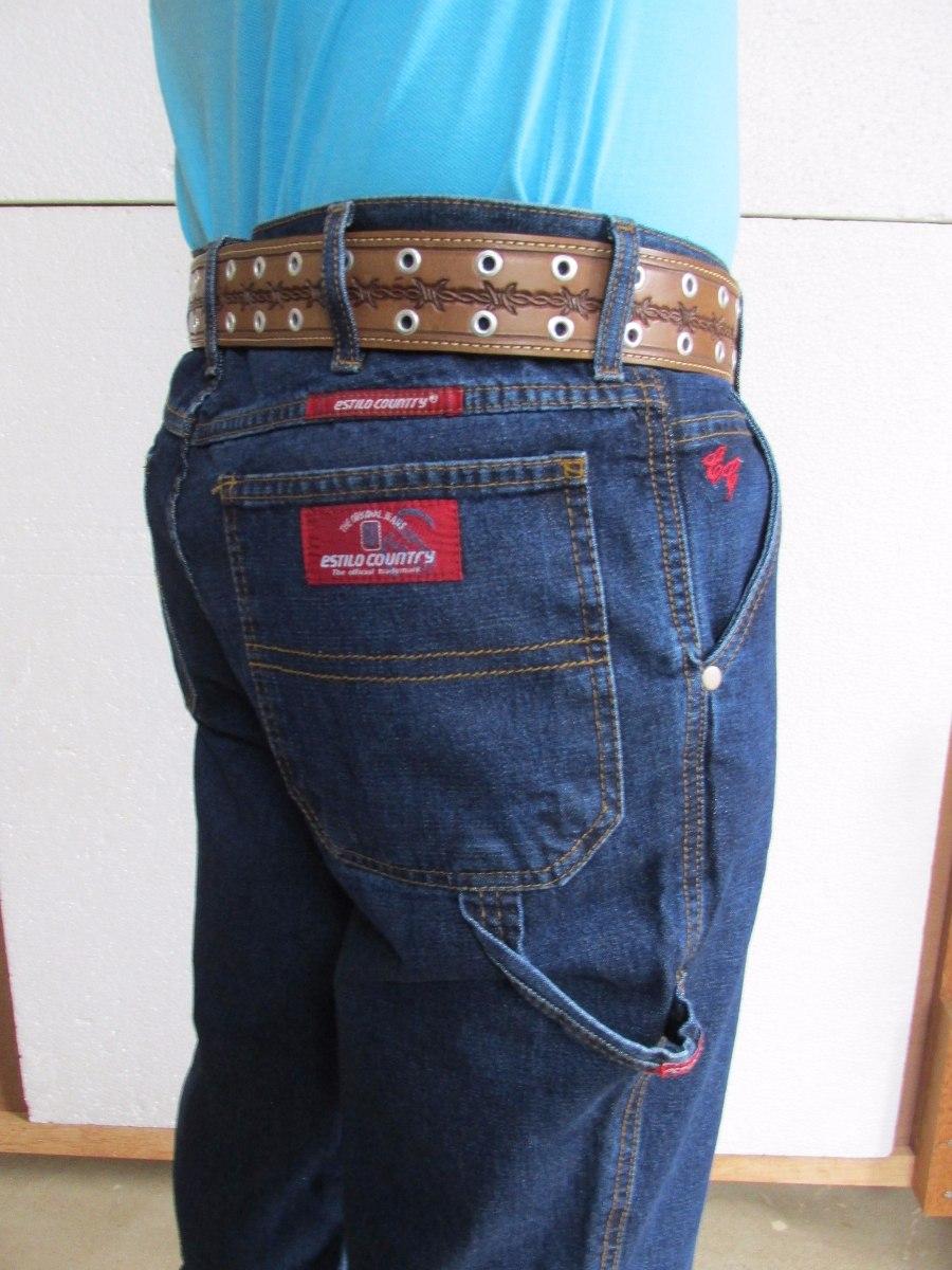 327b5621d052d calça carpinteira jeans azul stoned sem lycra estilo country. Carregando  zoom.