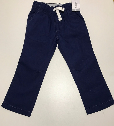 calça carter's sarja azul marinho tamanho 2 t original