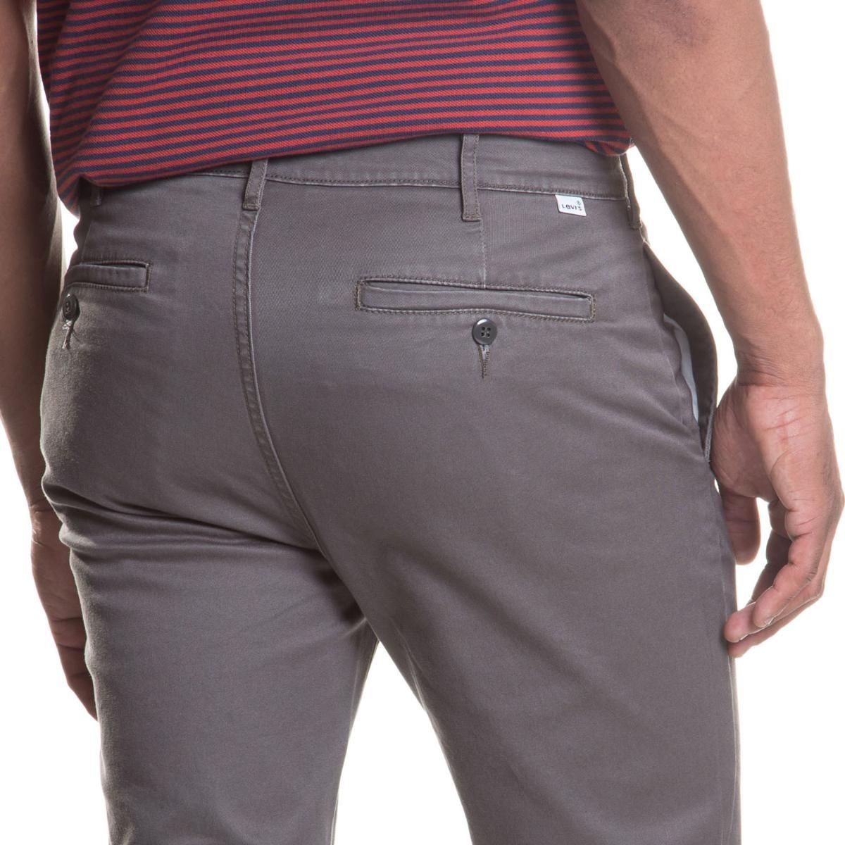 calça chino levis masculina 511 slim azul cinza. Carregando zoom. 388ec7a498c