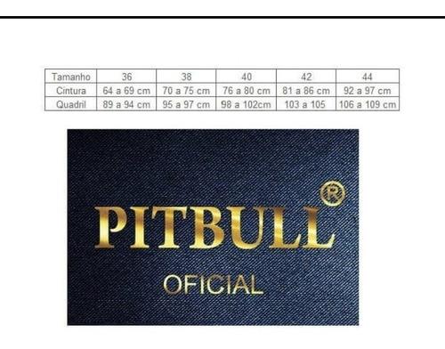 calça cigarrete pit bull jeans. coleção 2018