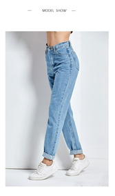 5b6513304679 Calça Jeans Vintage Cintura Alta - Calçados, Roupas e Bolsas com o Melhores  Preços no Mercado Livre Brasil