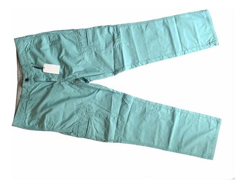 calça ck masculina azul água