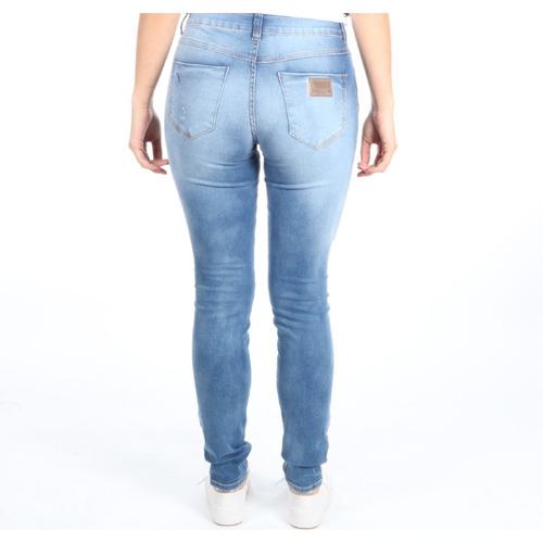 354026235b Calça Colcci Feminina Jeans Fatima Skinny Com Detalahe Puído - R ...