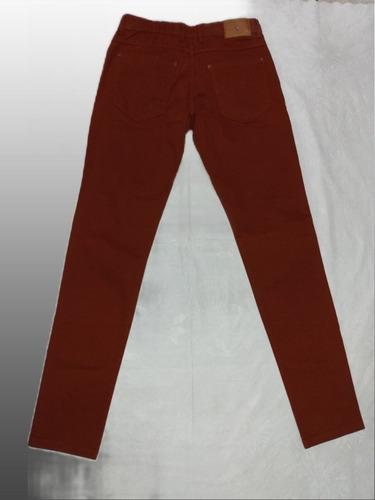 calça color skinny masculina vom eisen