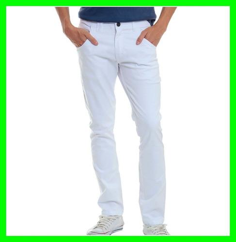 calça colorida masculina lycra slim varias cores veste bem