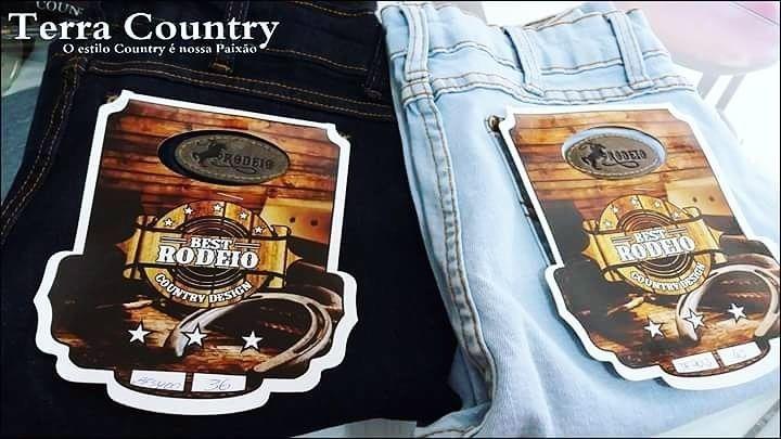 d6e15a938d Calça Country Feminina Mulher Kit C 3 Linda Para Rodeio - R  299
