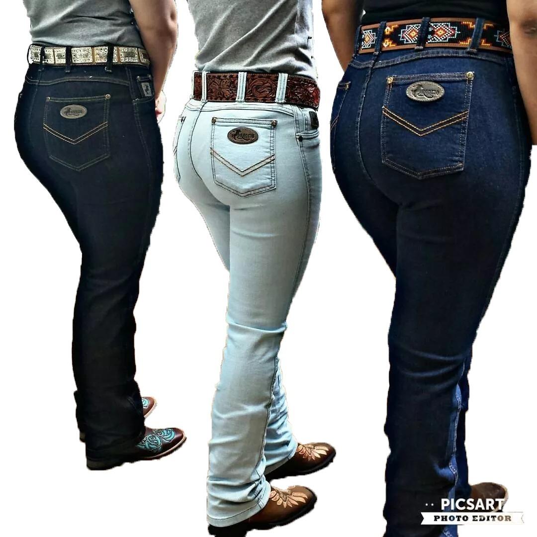 Calça Country Feminina Mulher Kit C 3 Linda Para Rodeio - R  299 976361d7418