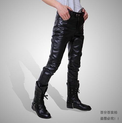 calça couro masculina (não pague o frete !)