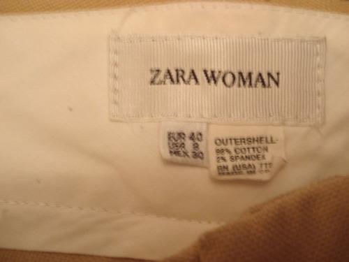 calça da zara women no 40
