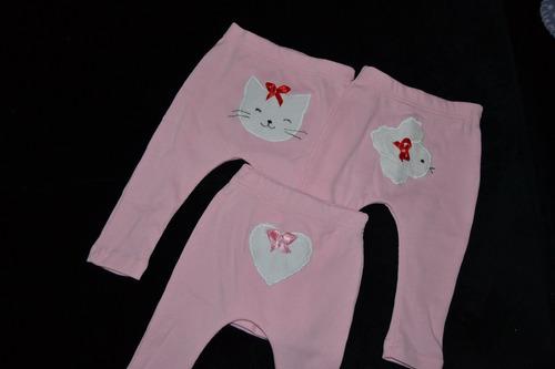 calça de bebê em ribana canelada