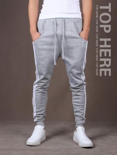 calça de moletom masculina saruel skinny sport luxo