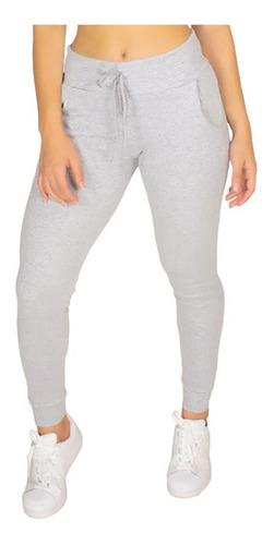 calça de ribana moda feminina moletom canelada swag jogging