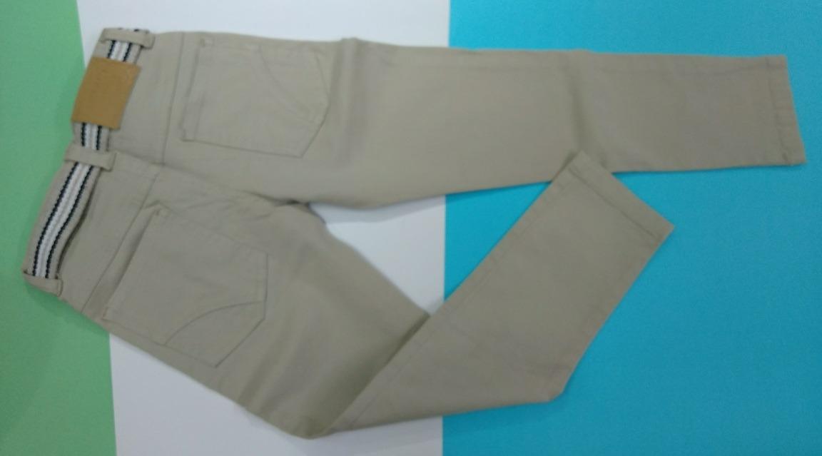 bbae4f5af6 calça de sarja bege infantil meninos criança com cinto. Carregando zoom.