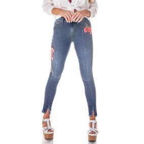 e0606759dc Calça Bordadas - Calças Jeans Feminino no Mercado Livre Brasil