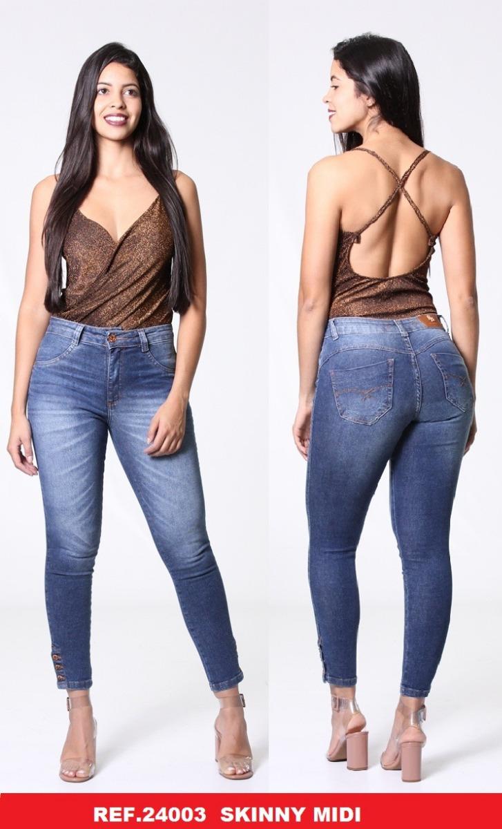 c32dc5806 Calça Feminina Biotipo Jeans Skinny 24003 - R$ 108,90 em Mercado Livre